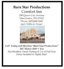 Comfort Inn Manchester Nh Barn Star Productions Midweek In Manchester Antiques Show