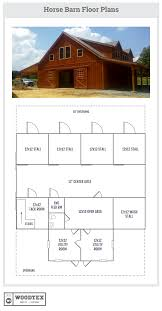 House Barns Plans by North Carolina Horse Barn With Loft Area Floor Plans Woodtex