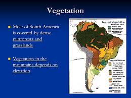south america map rainforest south america physical geography ppt