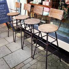 outdoor kitchen bar stools beautiful vintage industrial barstools style design with classic