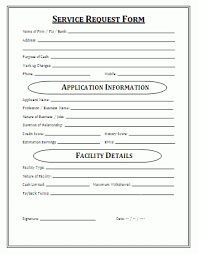 Service Request Template Excel Service Request Form Templates Word Excel Sles