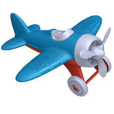 amazon com green toys airplane blue toys u0026 games