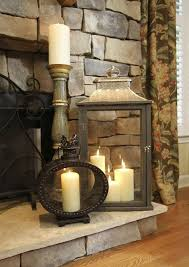 Fireplace Decorations Ideas Best 25 Candle Fireplace Ideas On Pinterest Fireplace With