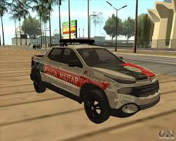 fiat toro pickup fiat toro police military for gta san andreas