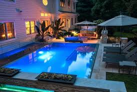 above ground pools in small backyards modern backyard design with
