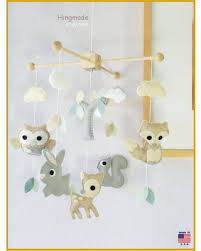 White Nursery Decor Tis The Season For Savings On Woodland Baby Mobile Baby Crib