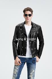 discount leather motorcycle jackets popular studded motorcycle jacket buy cheap studded motorcycle