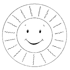 Coloring Pages Of Happy Sun Coloring Pages Happy Coloring Pages