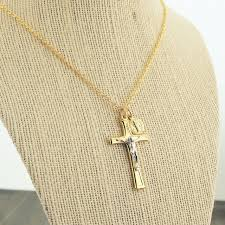 cross golden necklace images Cross medal necklaces jpeg