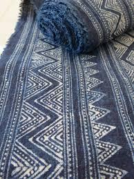 Batik Upholstery Fabric Portfolio Sanganer Indigo Fabric Indigo Kyanite Labradorite