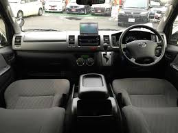 2012 toyota hiace van super gl long used car for sale at