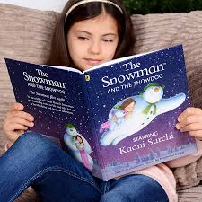 personalised u0027the snowman snowdog u0027 book penwizard