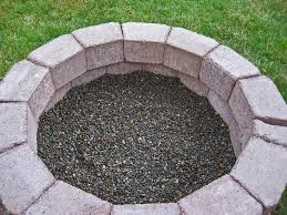 fire pit made of bricks bricks for fire pit crafts home