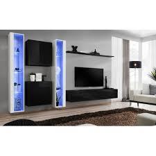 Gloss Living Room Furniture Modern Wall Tv Display Living Room Unit High Gloss Furniture