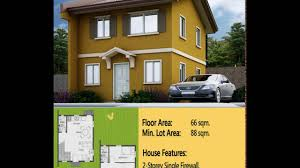 cara easy homes series camella house model in camella bulacan