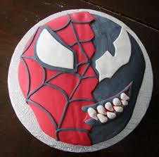 spiderman birthday coloring page pin spiderman venom and carnage coloring pages 8 cake on pinterest