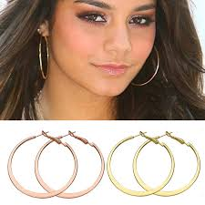 big hoop earrings big hoop earrings gold color multicolor jewelry minimalist