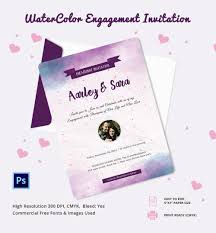 Engagement Invitation Cards Free Card Engagement Invitation Card Template