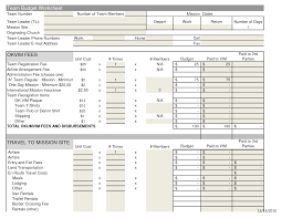 Yearly Expense Report Template by 10 Best Images Of Free Financial Budget Template Sample Church