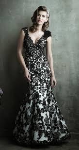 black wedding dresses fair black lace wedding gown wedding