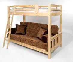 Futon Bunk Bed With Mattress Freedom Futon Bunk Package Deal Includes Full Size Mattress