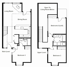 open loft house plans house plans with lofts best of open floor plan with loft wooden