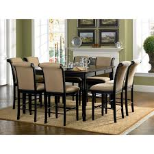 overstock dining room tables cabrillo counter height dining table overstock shopping great