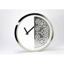 horloge murale engrenage horloge engrenage noir au vannier savoyard