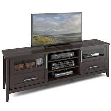 amazon com corliving tjk 687 b jackson extra wide tv stand