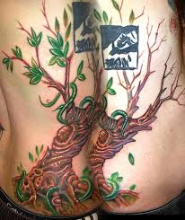 custom tree vine by marvin silva tattoos