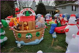 Extra Large Christmas Lawn Ornaments by Dark Take A Tour And Painted Plywood Yard Along With An Lawn