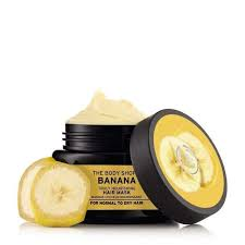 banana for hair banana truly nourishing hair mask the shop australia