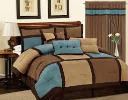Blue And Brown Bed Sets Blue And Brown Comforter Sets S Blue Brown Comforter Sets