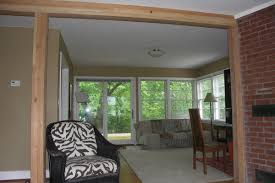 replacing a load bearing wall with a glulam column and beam system