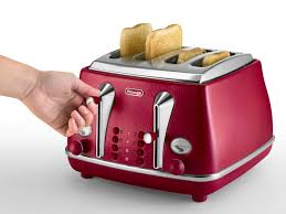 4 Slice Toaster Delonghi Icona Elements 4 Slice Toaster Red Ctoe4003 R Delonghi