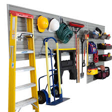 flow wall modular garage and hardware wall storage set with