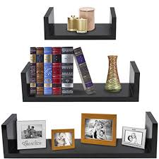 Shelves For Collectibles by Sorbus Floating Shelves U Shaped Hanging Wall Shelves For
