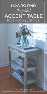 choosing a french country accent table for a small space space