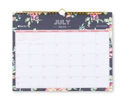 Day Designer For Blue Sky Navy Floral 11 X 8 75 Monthly Wall