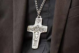 pectoral crosses the story the new la bishops pectoral crosses