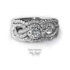 infinity engagement rings infinity engagement rings infinity knot engagement ring with