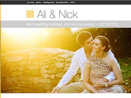 the best wedding websites fantastic wedding websites