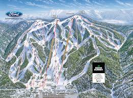 Mountains In Usa Map by Big Bear Mountain Piste Maps