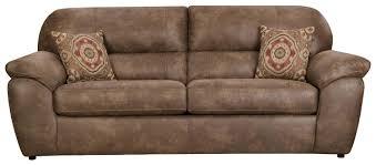 Plush Sofa Bed Casual Plush Sofa Sleeper By Corinthian Wolf And Gardiner Wolf
