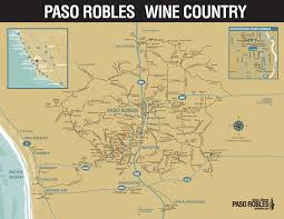 paso robles winery map sidestreet sle paso robles wine country