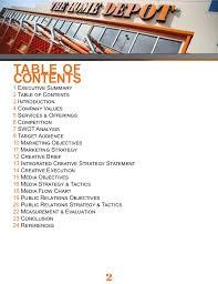 home depot marketing plan imc 610 the home depot imc caign