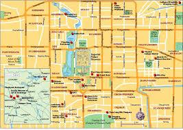Beijing Map Beijing Tourist Map Tian039anmen Square Beijing U2022 Mappery