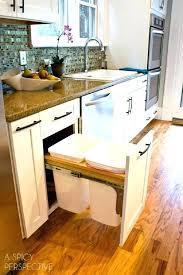 kitchen trash can ideas trash can lush kitchen trash size ideas furniture best kitchen