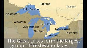 The Great Lakes Map The Five Great Lakes In Michigan Best Lake 2017