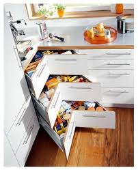 armoire en coin cuisine armoire de coin rangement cuisine armoire de coin
